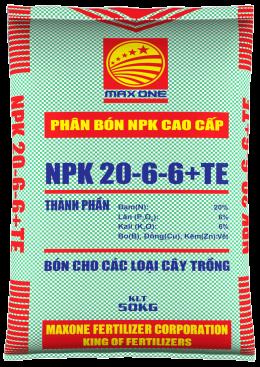 NPK 20-6-6+TE