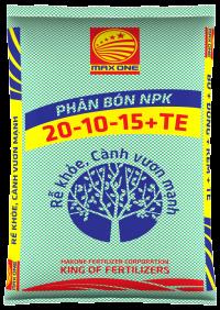 NPK 20-10-15+TE