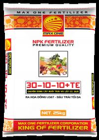 NPK 30-10-10+TE (BAO TRẮNG)