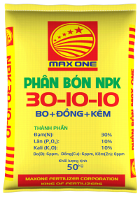 NPK 30-10-10+TE (BAO VÀNG)