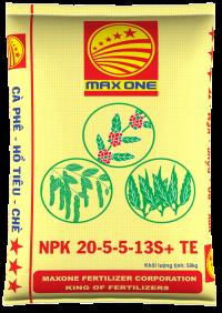 NPK 20-5-5+13S+TE